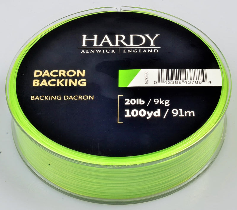 BACKING 20 LBS 100 YARDS LIME GREEN - HARDY