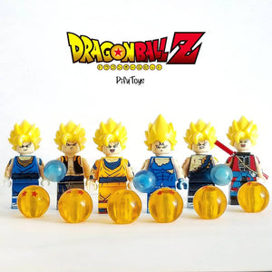 PROMOTION L'univers Dragon Ball en minifigure compatible lego