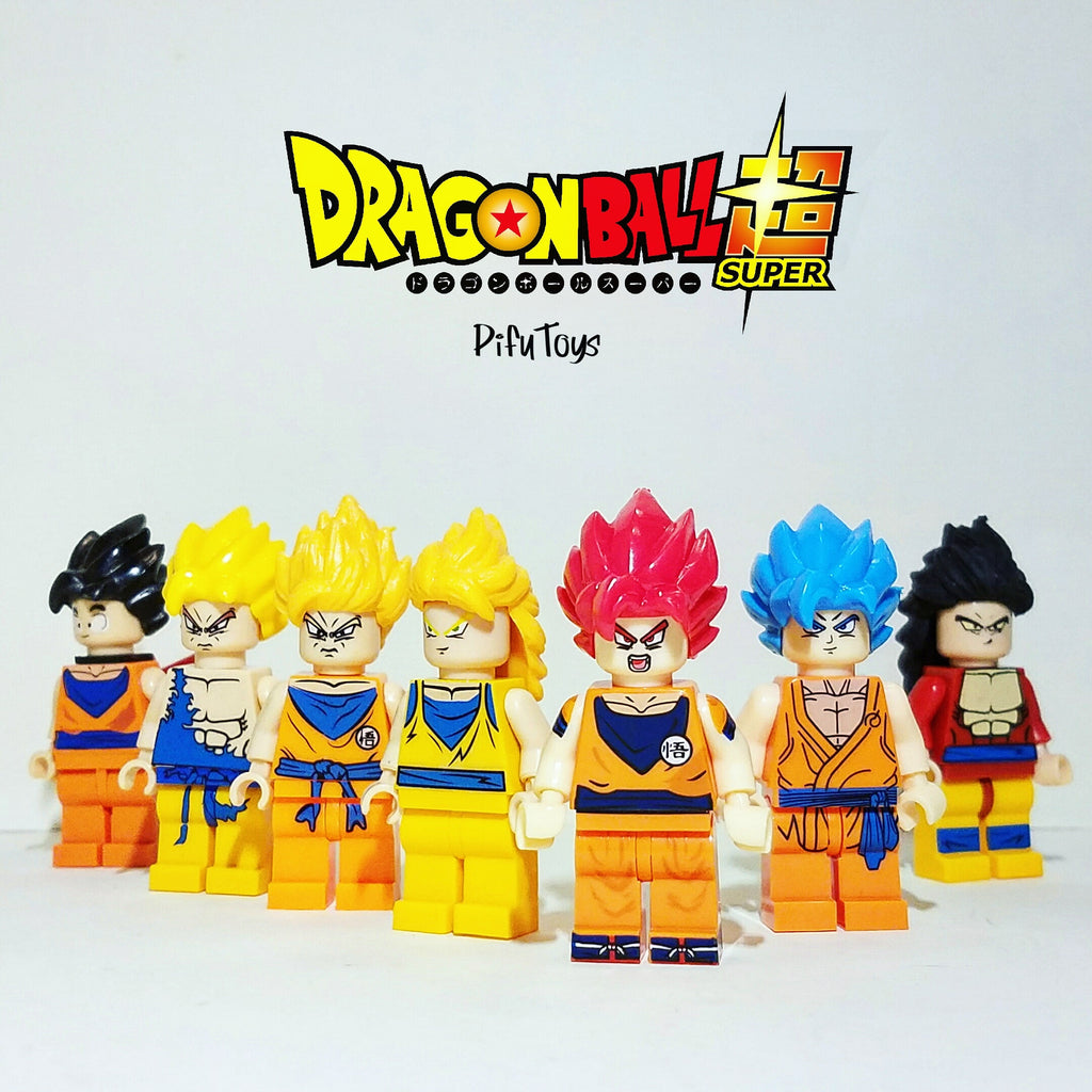 Minifigures Songoku Dragon Ball Z/Super