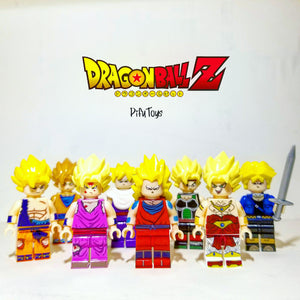 Minifigures Dragon Ball Z - Qui est le plus grand des super guerrier?