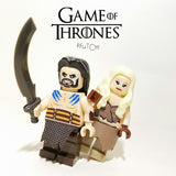 Game of Thrones - lot de 12 minifigures compatible lego