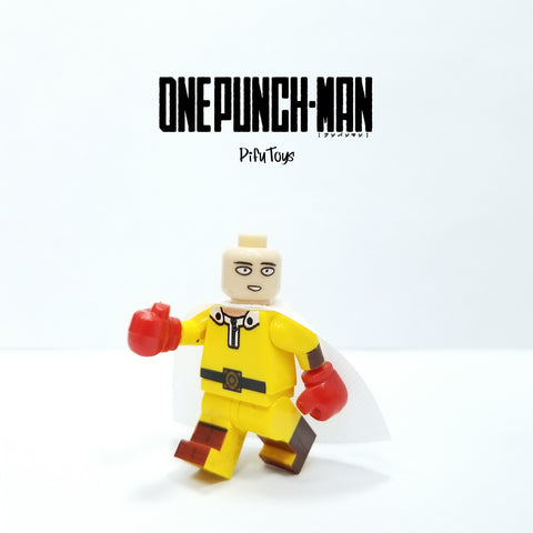 One Punchman - 1 Minifigure One Punchman Saitama compatible lego