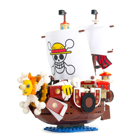 One piece - Bâteau Thousand Sunny 432 pcs à construire.