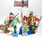 Dynasty Warrior A (Les 3 royaumes) - Lot de 6 Minifigures et 2 chevaux