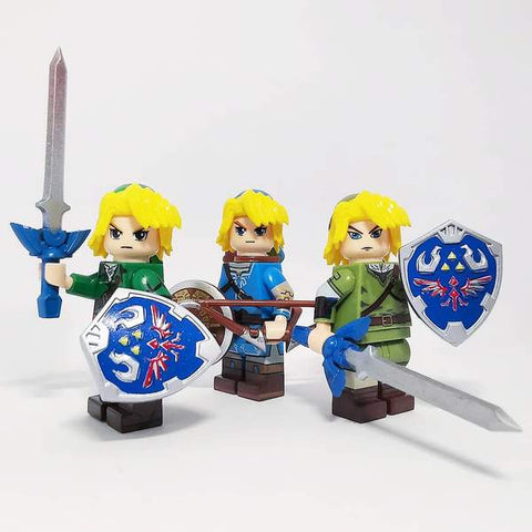 The legend of Z - Lot de 4 minifigures The Legend of Z