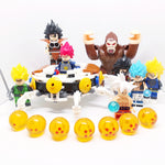 Dragon Ball - Set à construire vaisseau DBZ Oozaru incluant 8 minifigurines