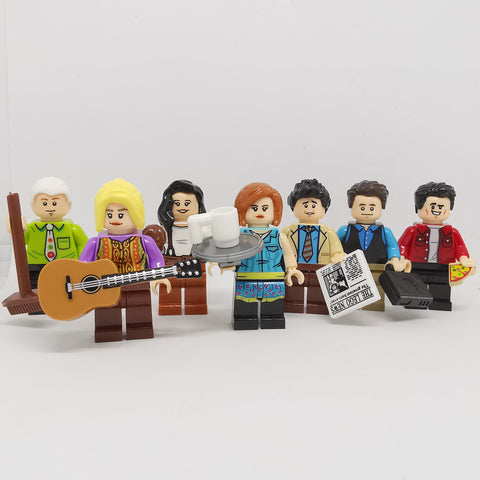 Friends - Lot de 7 minifigurines Friends
