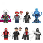 Far from Home - Lot de 8 minifigurines Far from Home compatible briques