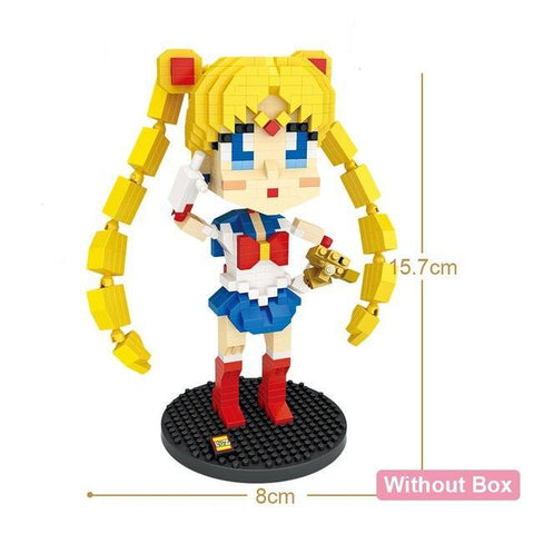 Sailor Moon - 1 Minibrique Sailor Moon 700 pcs à constuire