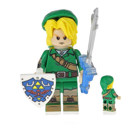 The Legend of Z- Lot de 3 minifigures The legend of Z compatible lego