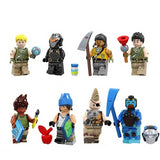 Battle Royale - Lot de 8 minfigurines Battle Royale avec accessoires