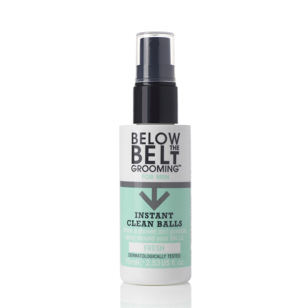 Below the Belt Grooming Instant Clean Balls - Fresh
