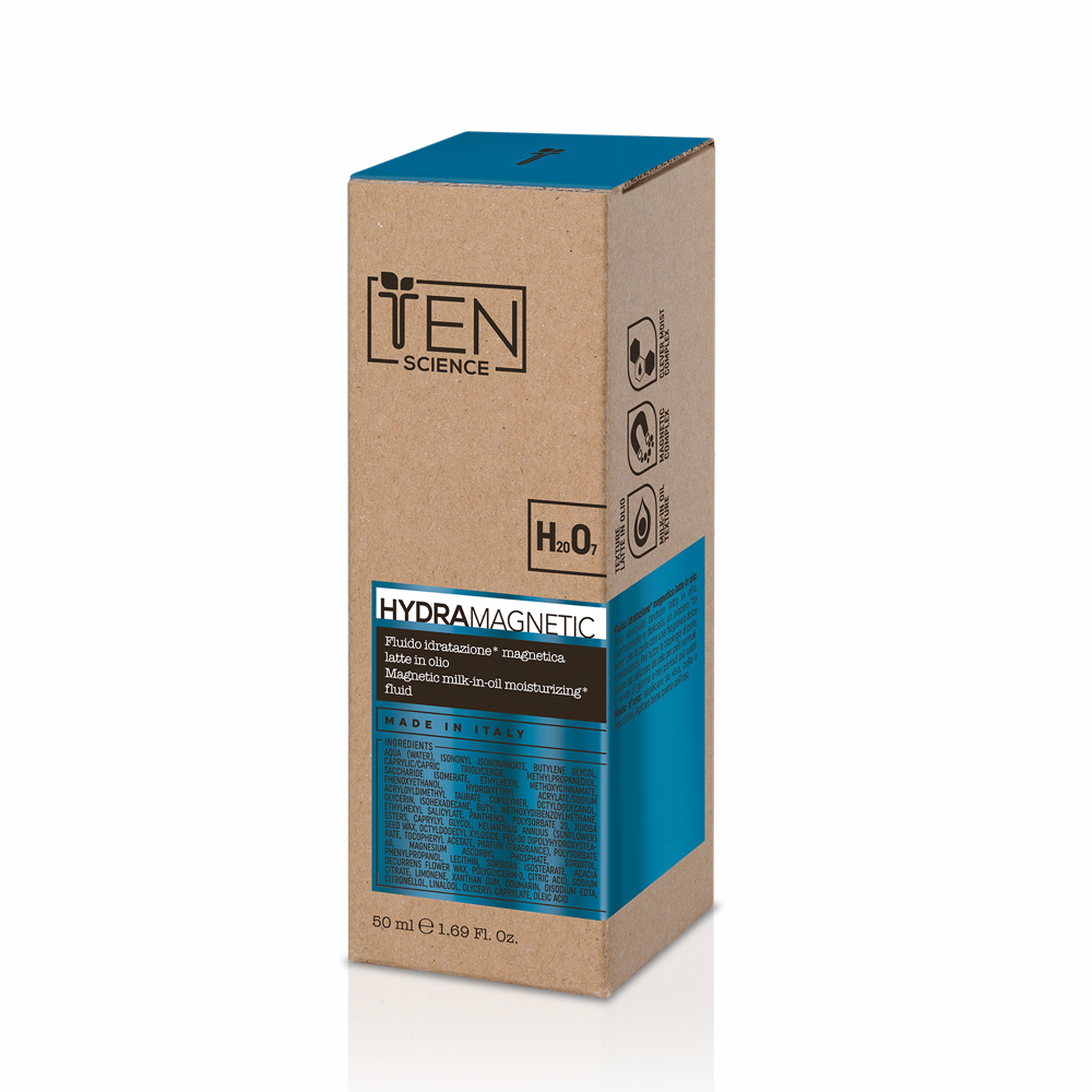 Ten Science Hydra Magnetic Magnetic Milk-in-Oil Moisturizing Fluid