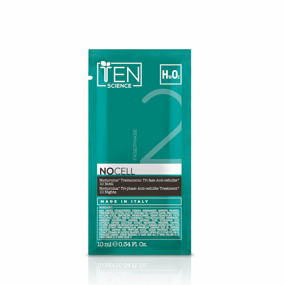 TEN Science NOCELL Nocturnina+ Tri-Phase Anti-Cellulite* Treatment 30 Nights 三段消脂*修護組合