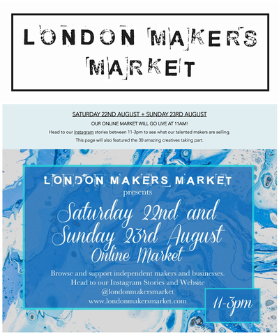 TALKING TO: London Makers Market.