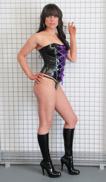 PVC Corset-Moonlight lingerie shop