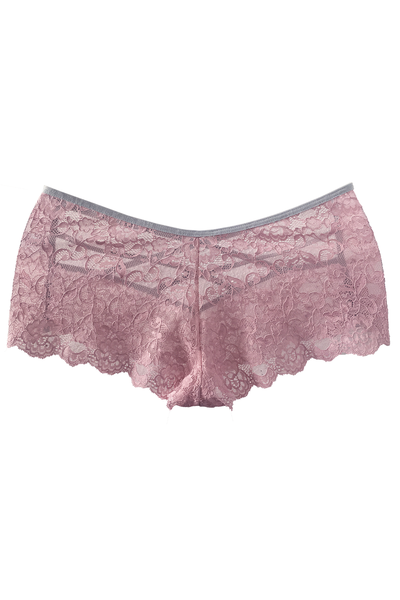 Blush-Pink Crisscross Brief