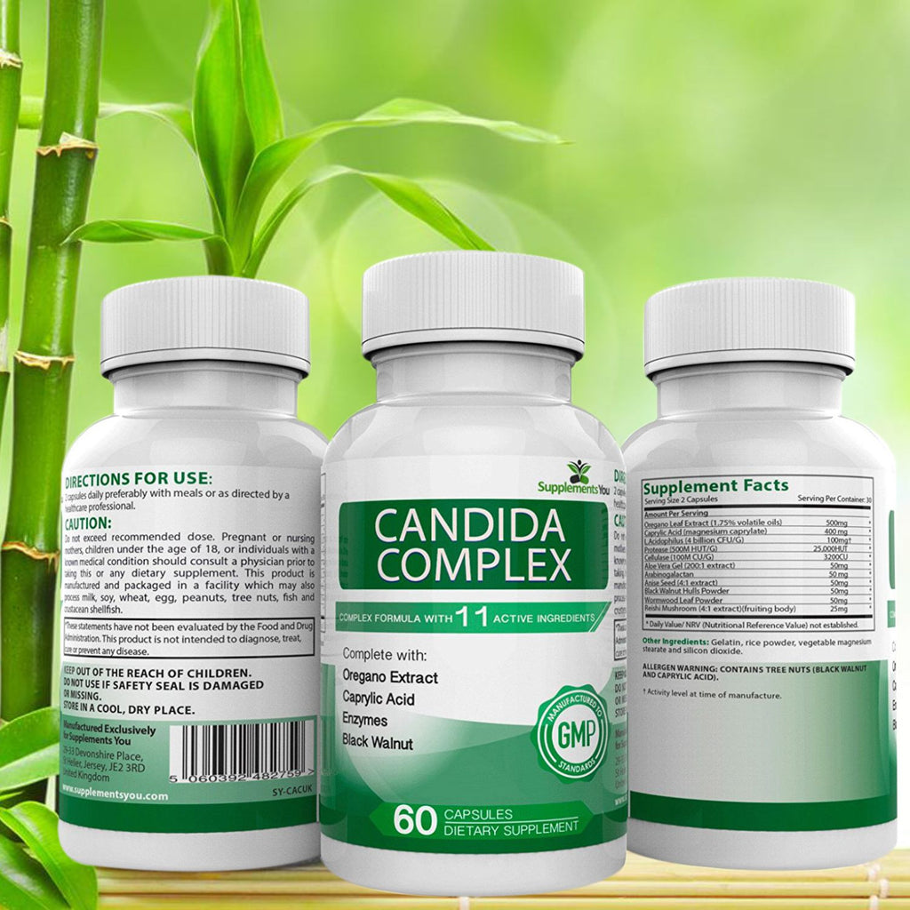 Candida Complex - Reduces and Cleanses against yeast, candida and thrush conditions! Can replace and restore beneficial bacteria.