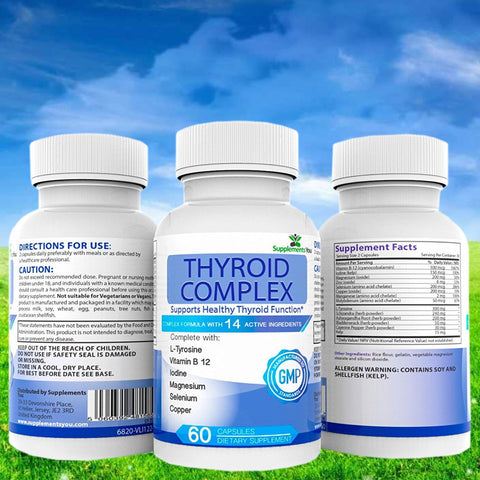 Thyroid Complex - Perfect For Treating Under And Over Active Thyroid Conditions
