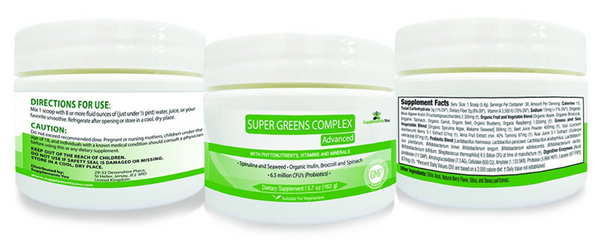 Super Greens Complex - Boosting Your Immune System
