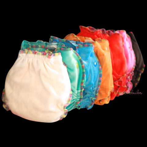 BUBBLEBUBS BAMBOO DELIGHTS FITTED NAPPY