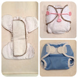 BUBBLEBUBS NEWBORN FITTED NAPPIES,Modern Cloth Nappies, Nanay 'n' Baby - Nanay 'n' Baby
