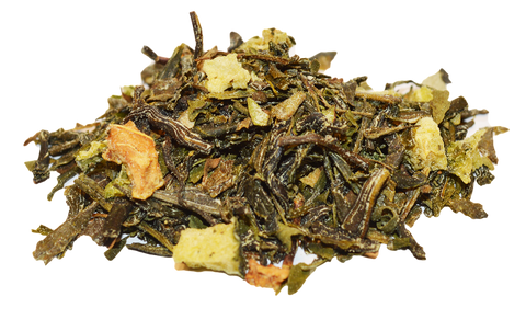lemon mojito green tea, herbal tea, loose tea, organic tea, buy tea online, healthy tea, yoga tea, boho chai
