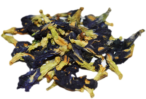 blue chai, blue tea, boho chai, yoga tea, detox tea, healthy tea, herbal tea, healthy tea, butterfly pea flowers, buy tea online
