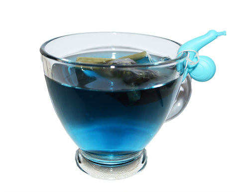 blue chai, blue tea, teabags, herbal tea, healthy tea, butterfly pea flowers, yoga tea, antioxidant, buy tea online, boho chai