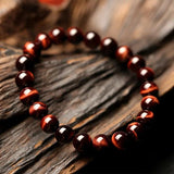 Red Tiger Eye Bracelet - Empire of the Gods