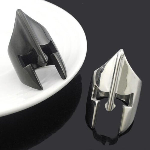 Spartan Helmet Ring - Empire of the Gods