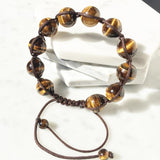 Tiger Eye Mala Bracelet - Empire of the Gods
