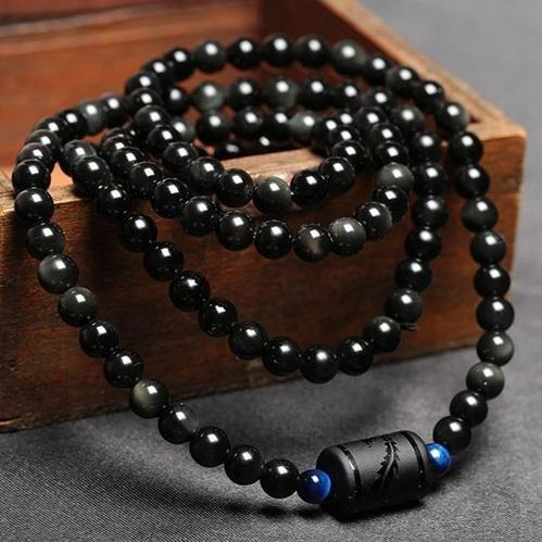 Rainbow Obsidian Multiwrap Bracelets - Empire of the Gods