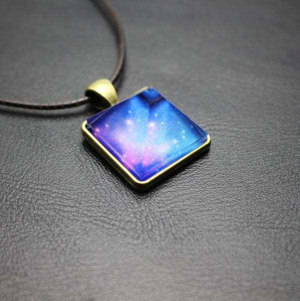 Glowing Stardust Crystals Pendant Necklaces - Empire of the Gods