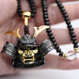 925 Sterling Silver Samurai Necklace - Empire of the Gods