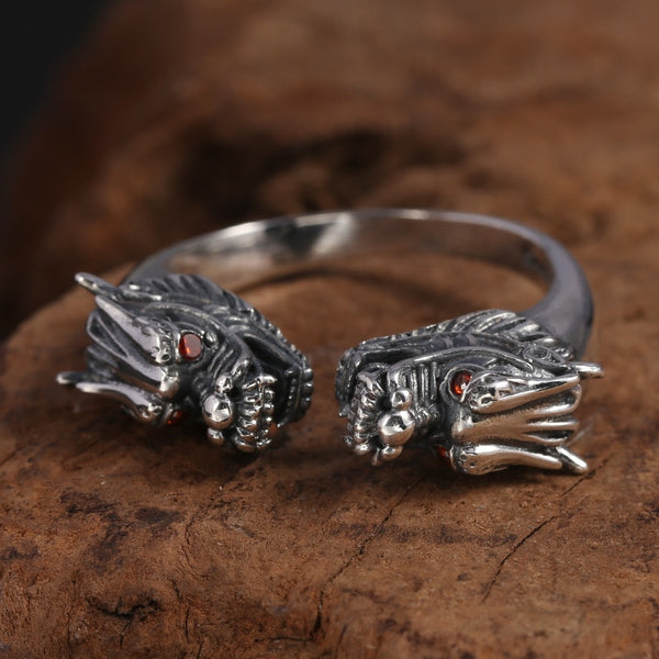 Twin Dragons Ring - Empire of the Gods