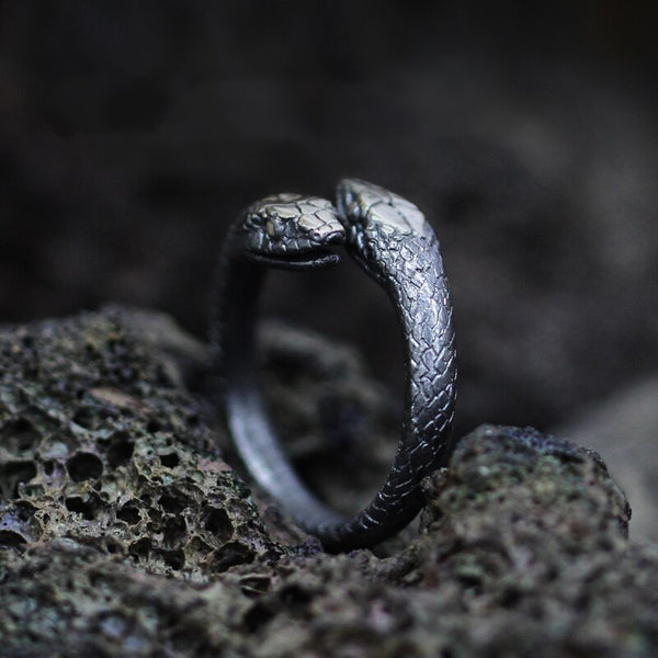 Twin Snake Ring - Empire of the Gods