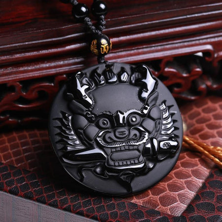 925 Sterling Silver Samurai Necklace