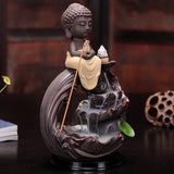 Ceramic Tiny Buddha Incense Burner - Empire of the Gods