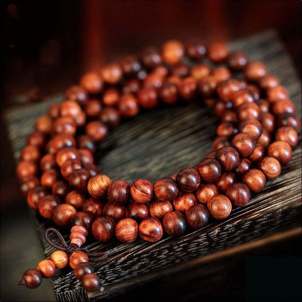 Tibetan Redwood Bracelet - Empire of the Gods
