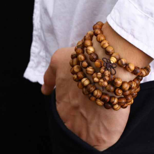 Hua Qinan Prayer Beads Bracelet - Empire of the Gods