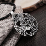 Celtic Love Circle Pendant Necklace - Empire of the Gods