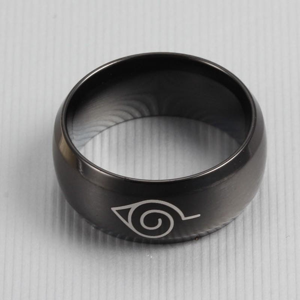 Titanium Konoha Kunai Ring - Empire of the Gods