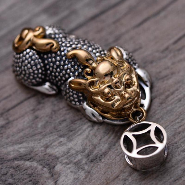 925 Sterling Silver Pixiu Pendant - Empire of the Gods