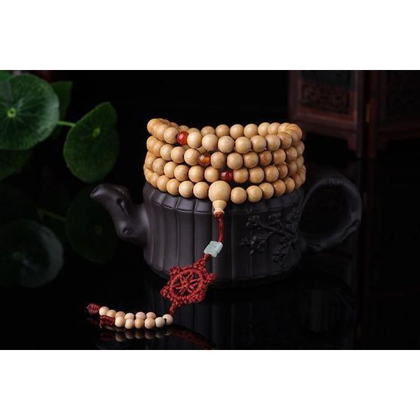 Tibetan Basswood Bracelet - Empire of the Gods