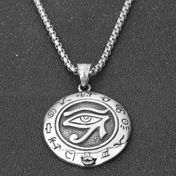 Ancient Egypt Eye of Horus Pendant Necklace - Empire of the Gods