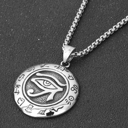 Ancient Egypt Eye of Horus Pendant Necklace