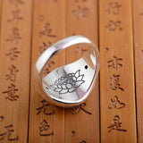 925 Sterling Silver Six True Words Ring - Empire of the Gods