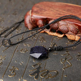 Blue Sandstone Star of David Necklace - Empire of the Gods