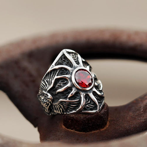 Eagle's Nest Ruby Ring - Empire of the Gods